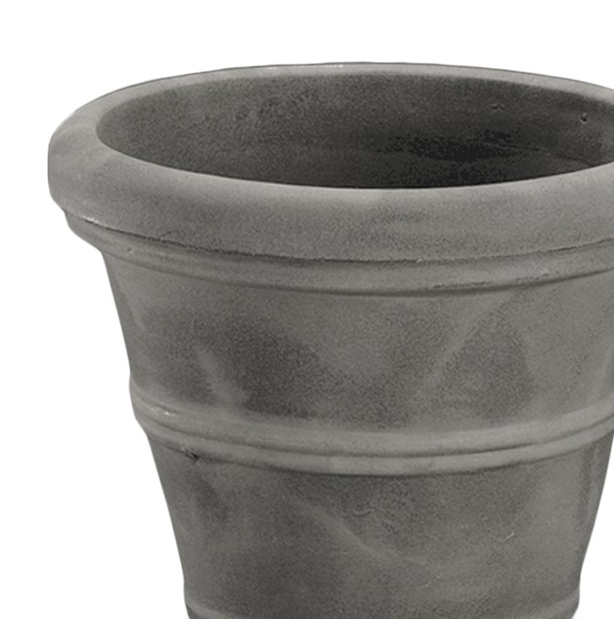 A2611080 BRUNELLO 112 CM PLANTER WEATHERED GREY STONE