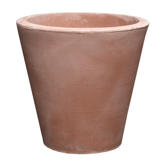A113534A MADISON 36 CM PLANTER WEATHERED TERRACOTTA