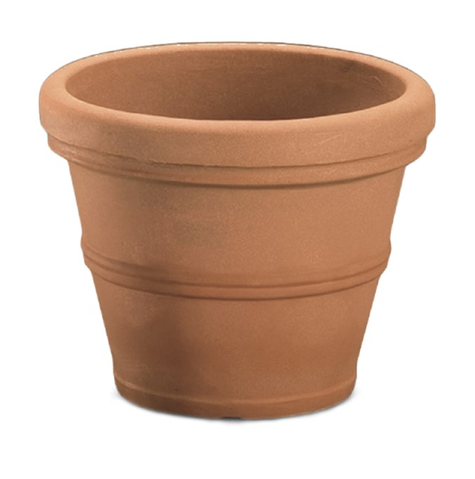 A263034 BRUNELLO 30 CM PLANTER WEATHERED TERRACOTTA