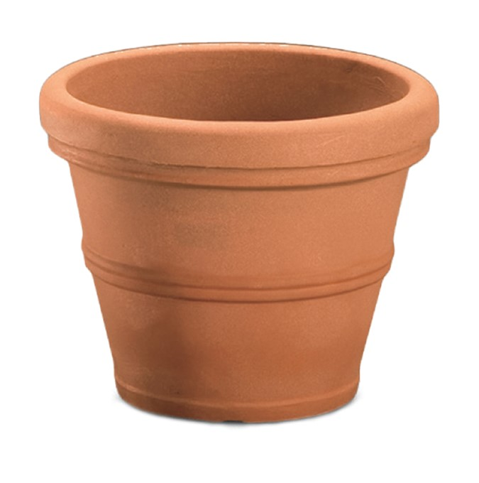 A263534 BRUNELLO 36 CM PLANTER WEATHERED TERRACOTTA